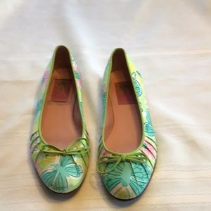 |Lilly Pulitzer Floral Flats |